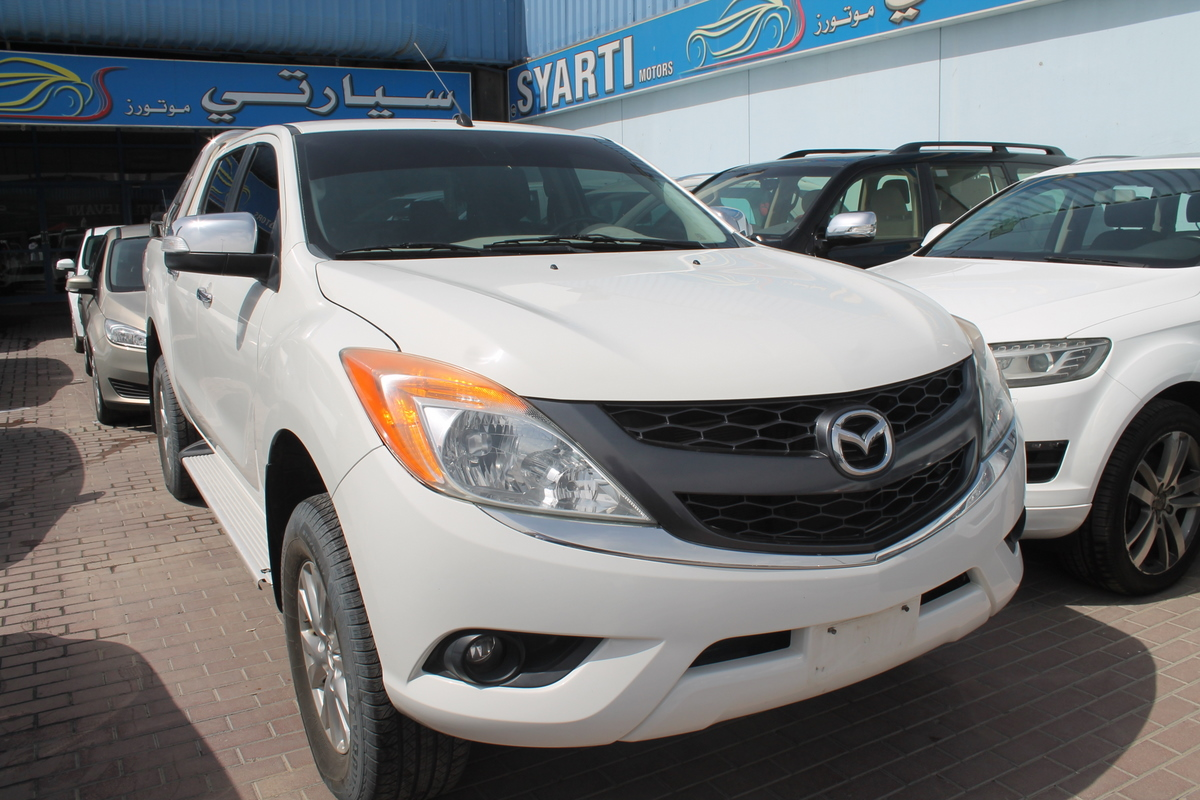 used mazda bt-50 pickup 2.5l double cab pro (4wd) m/t 2014