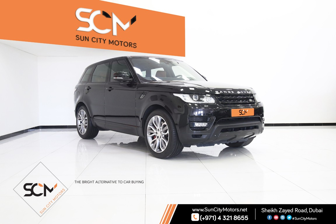 Used Land Rover Range Sport Supercharged 2017 Aed 179 000